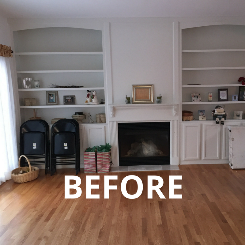 Before 2 - Making a House a Home - Massachusetts Interior Design