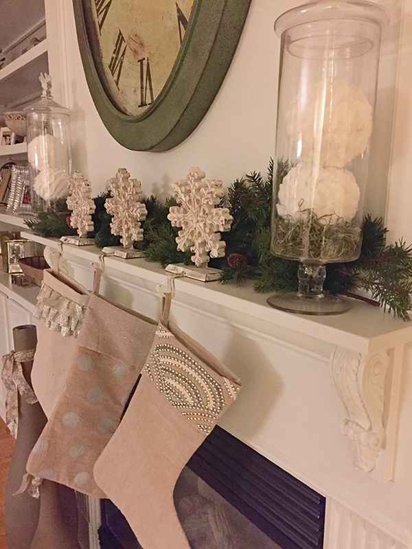 Christmas Decorating Stockings - Monson Interior Designer