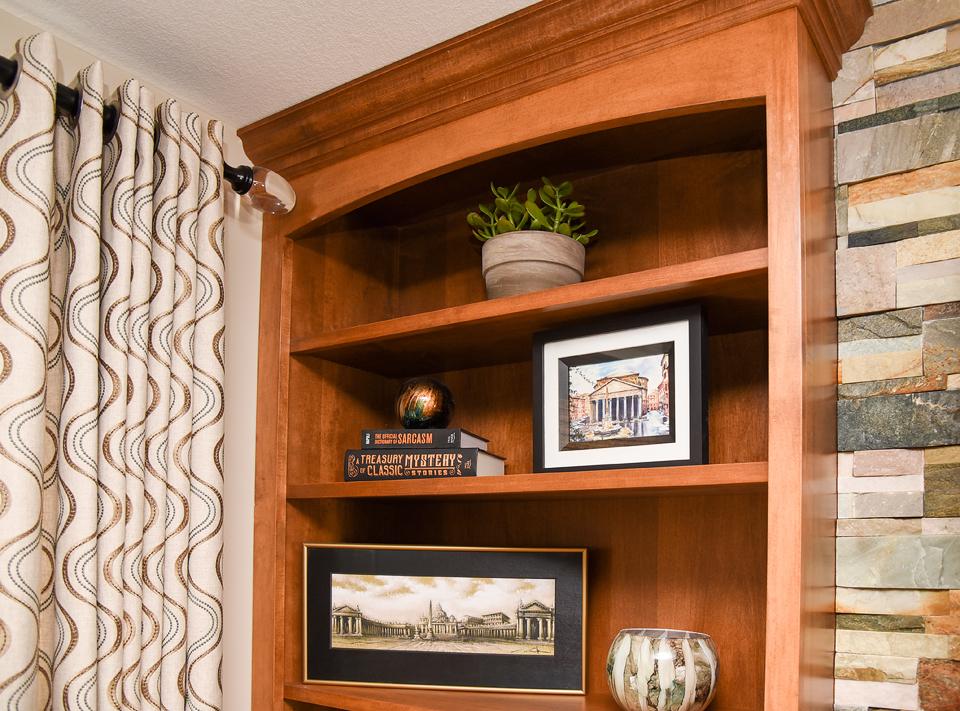 Custom Built-Ins - Custom Draperies - Curtains - Shelves - The Empty Nester's Dream - Massachusetts Interior Design