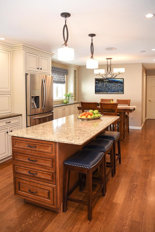 Open Kitchen - The Empty Nester's Dream - Western Massachusetts Interior Design