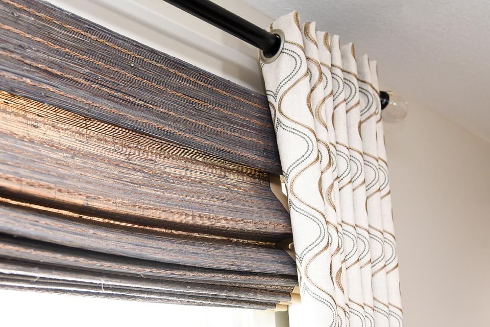 Custom Draperies - Curtains - The Empty Nester's Dream - Monson Mass Interior Design