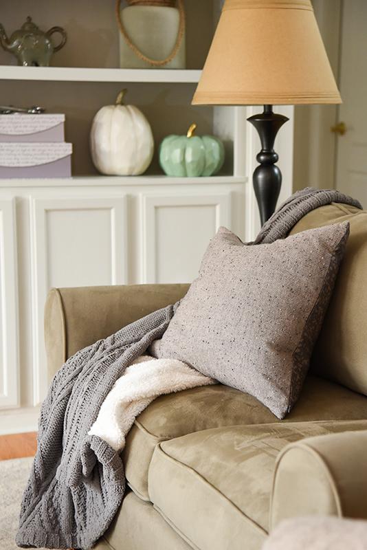 Get cozy for fall decor - Details Full Service Interiors - Monson Interior Decorator