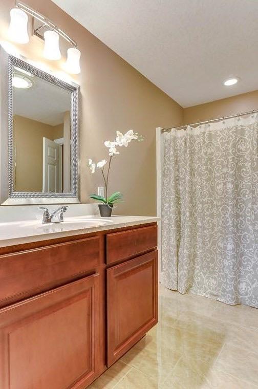 Master Bathroom - Condo Staging - Interior Design in Monson