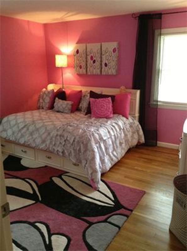 pink tween bedroom portfolio full service interior design