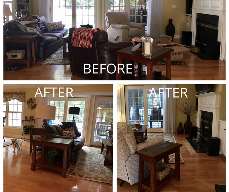Amazing DIY One Day Room Makeover   Details Full Service Interiors
