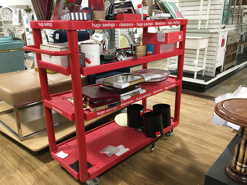 Clearance Items - Tips for Shopping at HomeGoods - Details Full Service Interiors