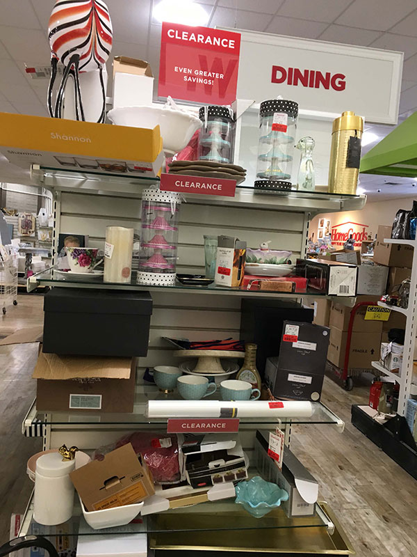 Search for Bargains - Tips for Shopping at HomeGoods - Details Full Service  Interiors