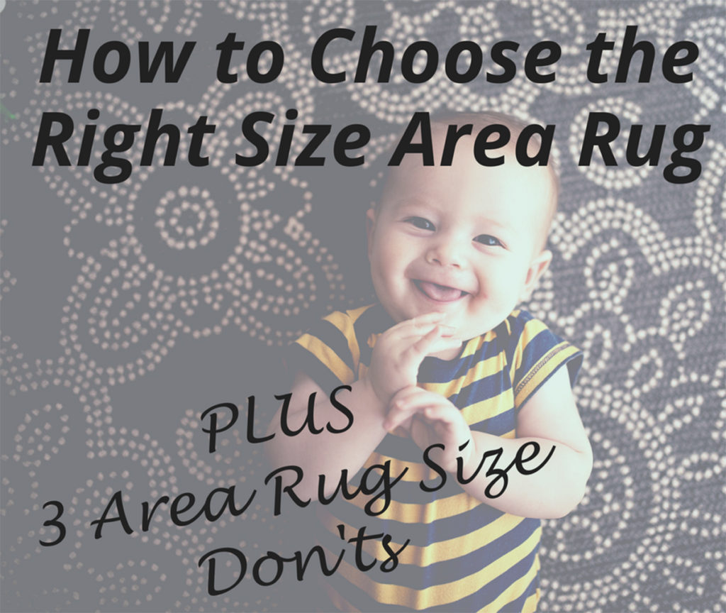 How to know what size area rug to buy - Details Full Service Interiors - Mass Interior Design