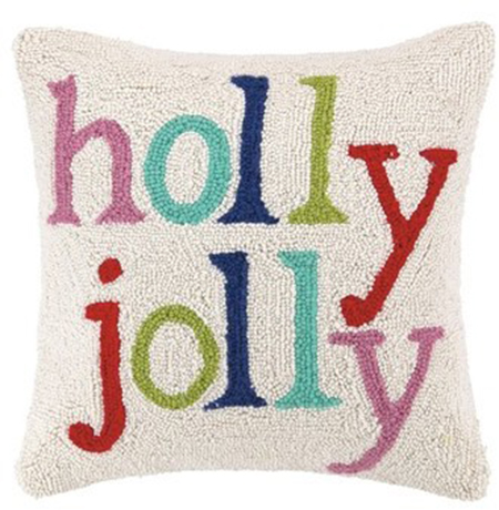 Christmas Holiday Pillow - Details Full Service Interiors - Interior Design in Monson