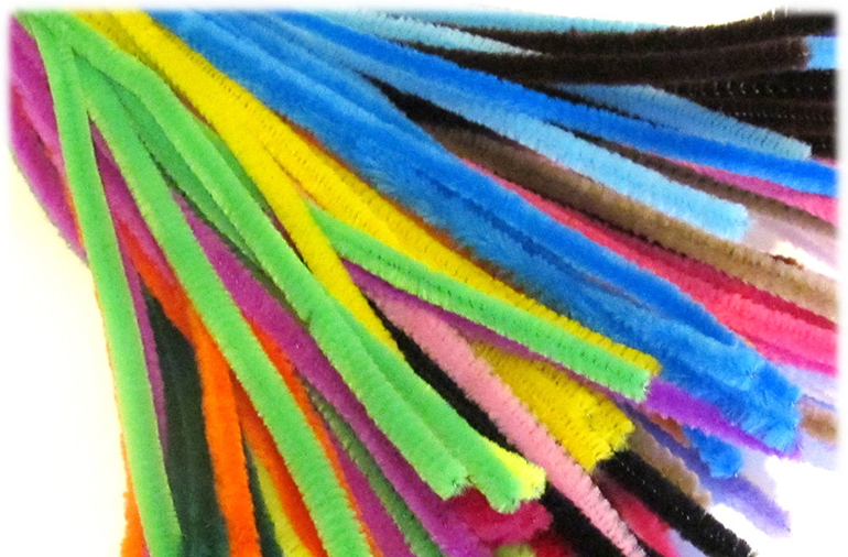 Pipe Cleaners - Chinille Stems - Details Full Service Interiors