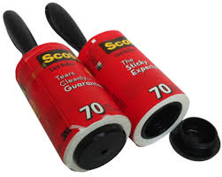Tape Lint Rollers - Details Full Service Interiors