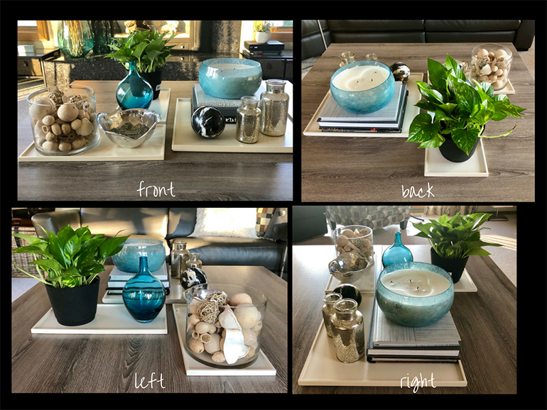 Make adjustments to your coffee table - Details Full Service Interiors - MA Interior Design