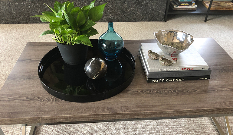How to decorate your coffee table - Details Full Service Interiors - Interior Design in MA