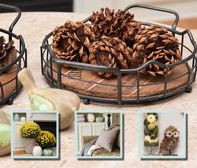Fall Decorating - Monson Interior Design